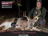 Staffer, Anthony Clark with a MO buck and his Mini-29