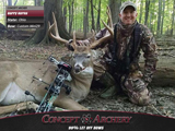 Barry Kerns a big Ohio buck and his custom Mini29