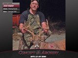 Jesse Wagner with a PA 8 point taken with a Concept P50.