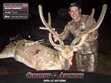 Kelton Krammer w/ a big TX axis buck.