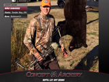 Mike Sawatsky with his 2nd Thunder Bay, ON black bear.